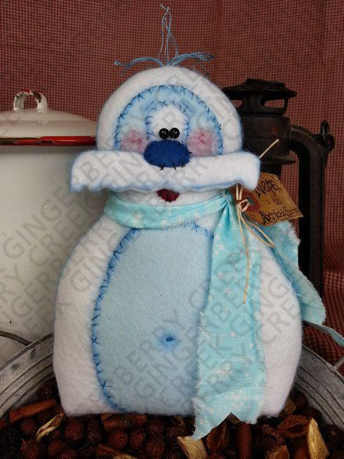 E-Pattern  Nepal the Abominable Snowman Pattern 107