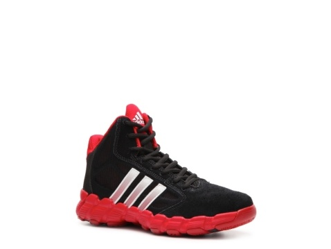 adidas Shake 'Em K Boys' Toddler & Youth Basketball Shoe