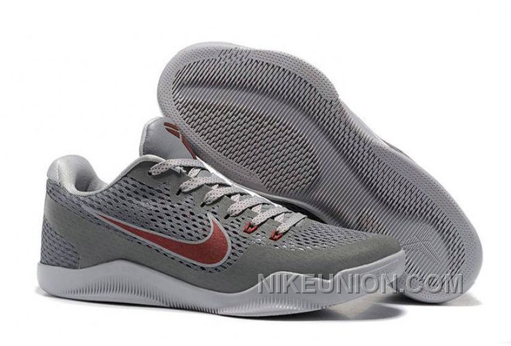 http://www.nikeunion.com/authentic-nike-kobe-11-em-cool-grey-team-red-free-shipping.html AUTHENTIC NIKE KOBE 11 EM COOL GREY TEAM RED FREE SHIPPING : $68.32