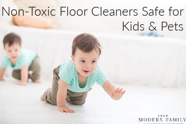 Diy Pet Baby Friendly Floor Cleaners