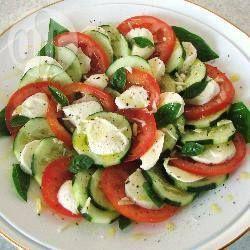 Bocconcini, Basil and Tomatoes @ allrecipes.com.au
