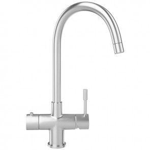 Franke Minerva Helix 3-In-1 Kitchen Sink Mixer Tap - Minerva-Helix-Tap - Banyo.co.uk