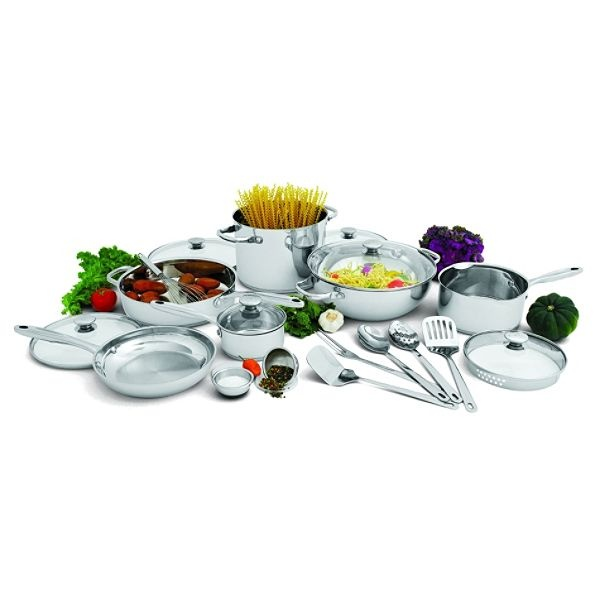 Love our Wolfgang Puck cookware--- bought my son this set also... he loves it!
