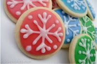 Best cookie icing ever....after drying, they are stackable, but icing is still soft to eat!