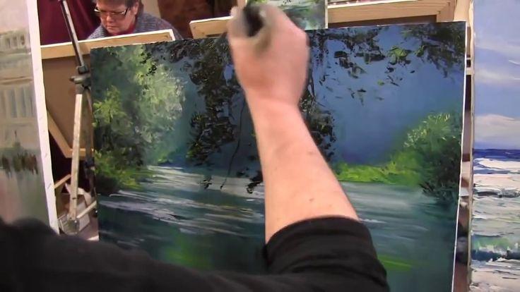 Уроки живописи, Игорь Сахаров.  научиться рисовать маслом
