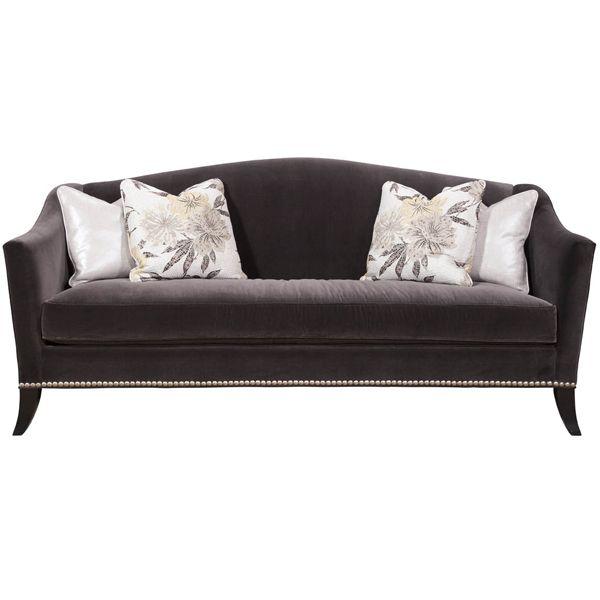 Bentley Furniture: Bentley Churchill Ashley Camel Back Sofa