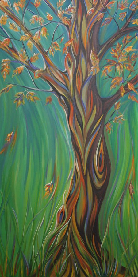 falling. original & prints available. beautiful tree :)