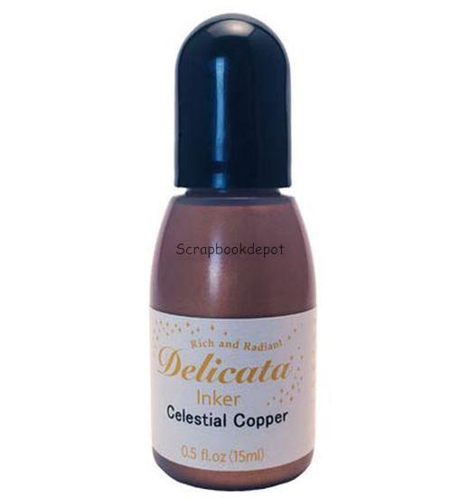 Delicata Pigment Inkt Refill - Celestial Copper