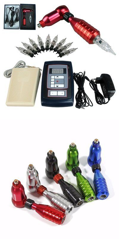 Tattoo Complete Kits: Horiking Tattoo Supply Rca Rotary Tattoo Machine Kit Permanent Makeup Eyebrow -> BUY IT NOW ONLY: $113.25 on eBay!