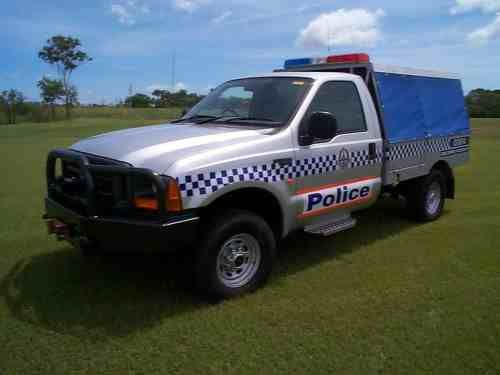 Australian Police Cars > Gallery > Northern Territory Police > Image: f250ct_m_1