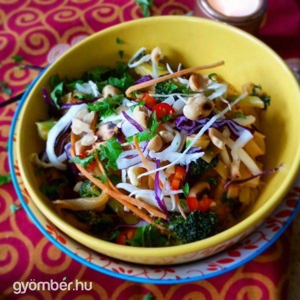 Vegan Pad Thai inspired by Thug Kitchen  #vegan