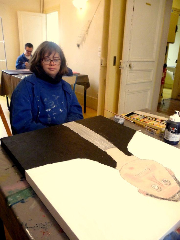 #larche #peinture #art #handicap