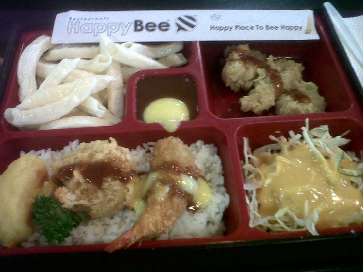 Bento from Bee Resto