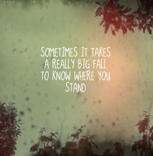 You have to know where you stand before you can know where you want to go.