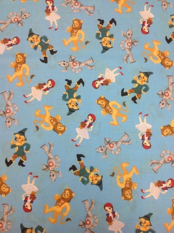 Wizard Of Oz Fabric Characters 1 Yard Dr Oz Wizard Of
