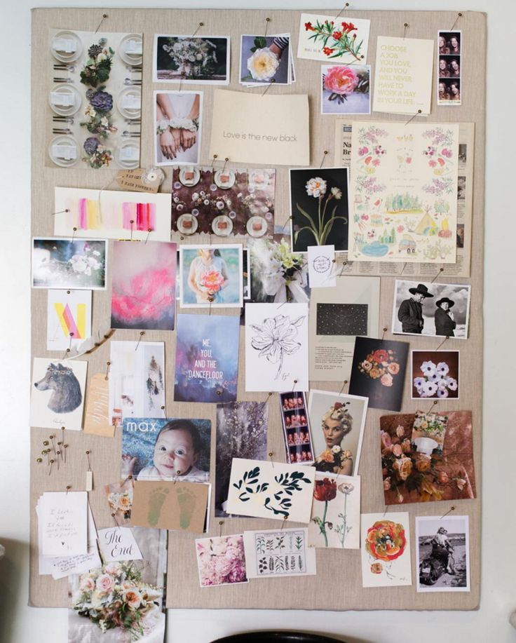 10 tips to making your perfect inspiration board