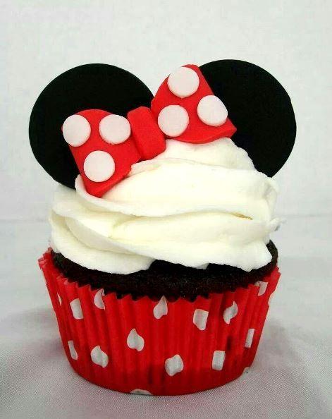 Minnie Mouse Cupcake