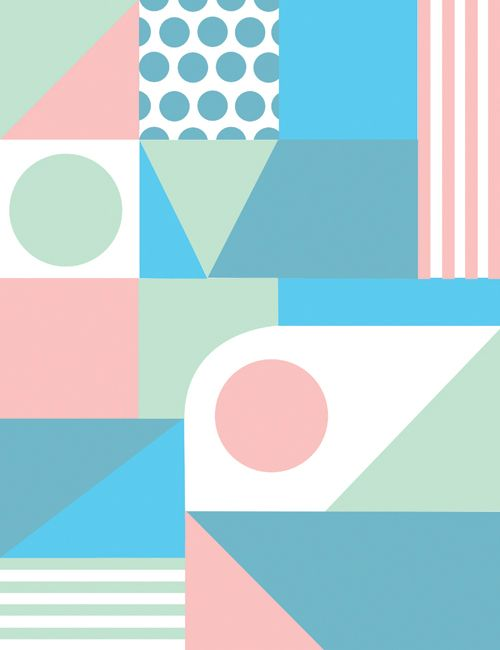 Pattern by Maxime Francout, via Behance