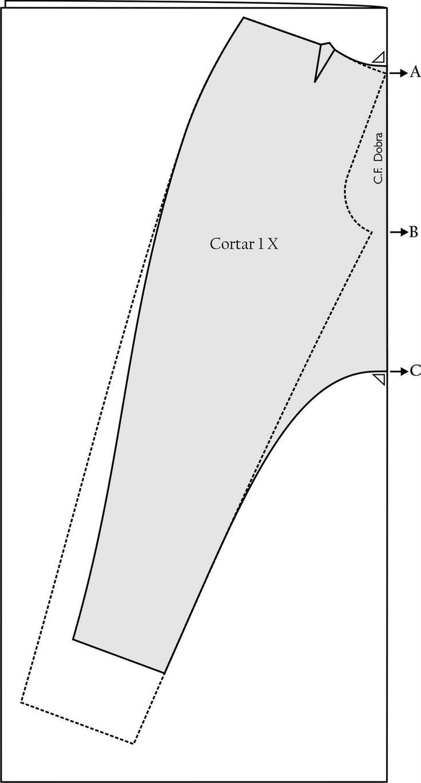 MIB - Modelagem Industrial Brasileira: Calça Saruel