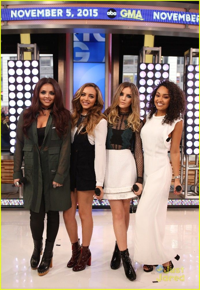 Little Mix Promote 'Get Weird' On 'Good Morning America' - One More Day!: Photo #889529. Little Mix were amazing and terrific and flawless all at once while performing on Good Morning America in New York City on Thursday (November 5). The ladies --…