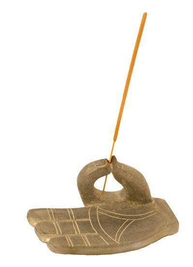 Hand of Buddha Incense Holder