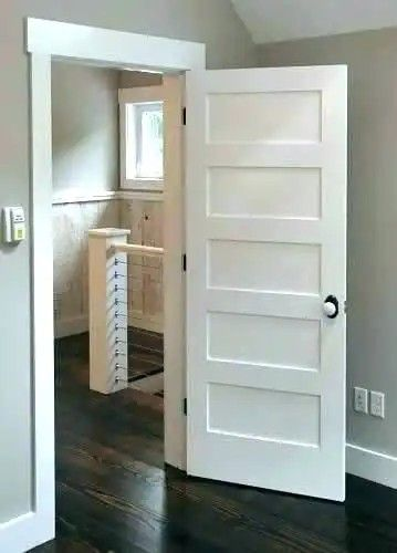 Pin By Tucker Fitzgerald On Micro Home Masonite Interior Doors Door Trim Tall Cabinet Storage