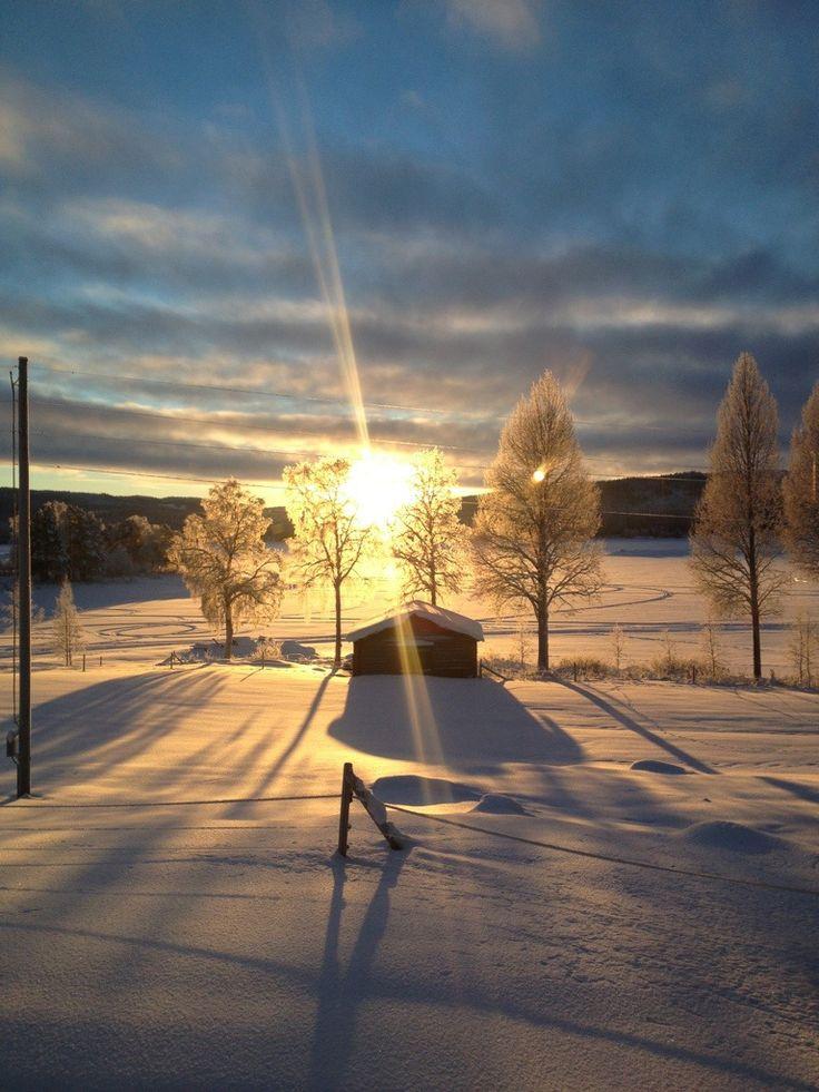 Grannäs, Sorsele kommun, Vindelälven, Lappland, Sweden