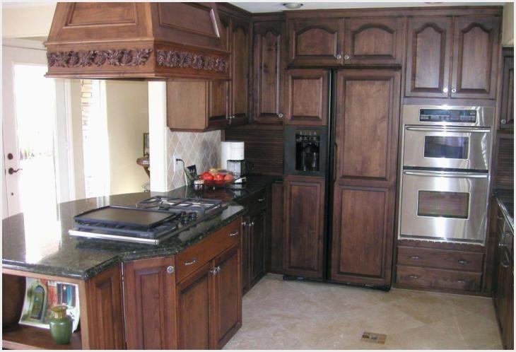 Pickled Oak Kitchen Cabinets Ideas di 2020