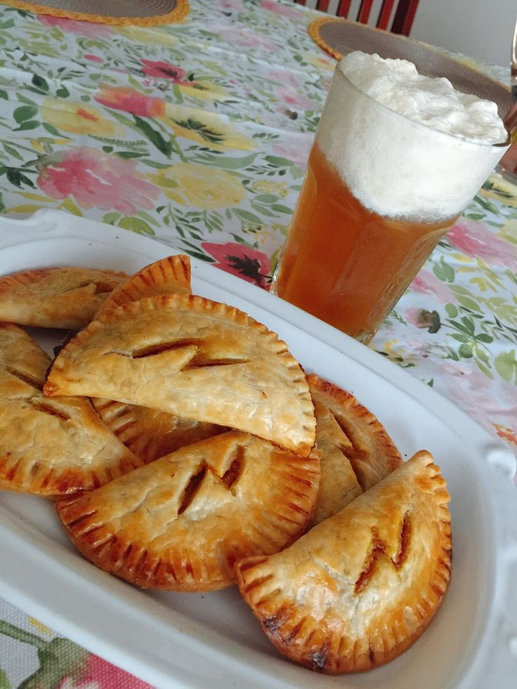 Made Pumpkin Pasties and Butterbeer! Wizard food!