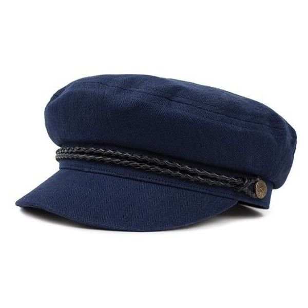 77c2814e442 Ashland Cap Indigo ( 77) ❤ liked on Polyvore featuring accessories ...