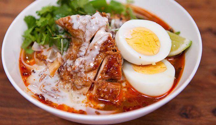 Chicken Laksa - Good Chef Bad Chef