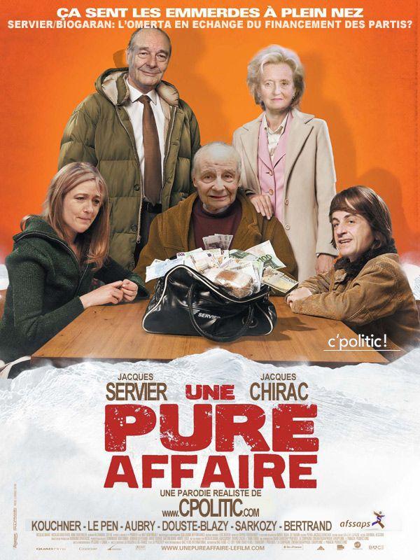 Chirac Sarkozy Le Pen et Jacques Servier : Une pure affaire