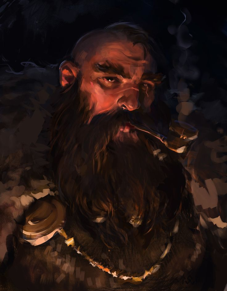 27.11 dwarf, ivan stan on ArtStation at https://www.artstation.com/artwork/o8D1J