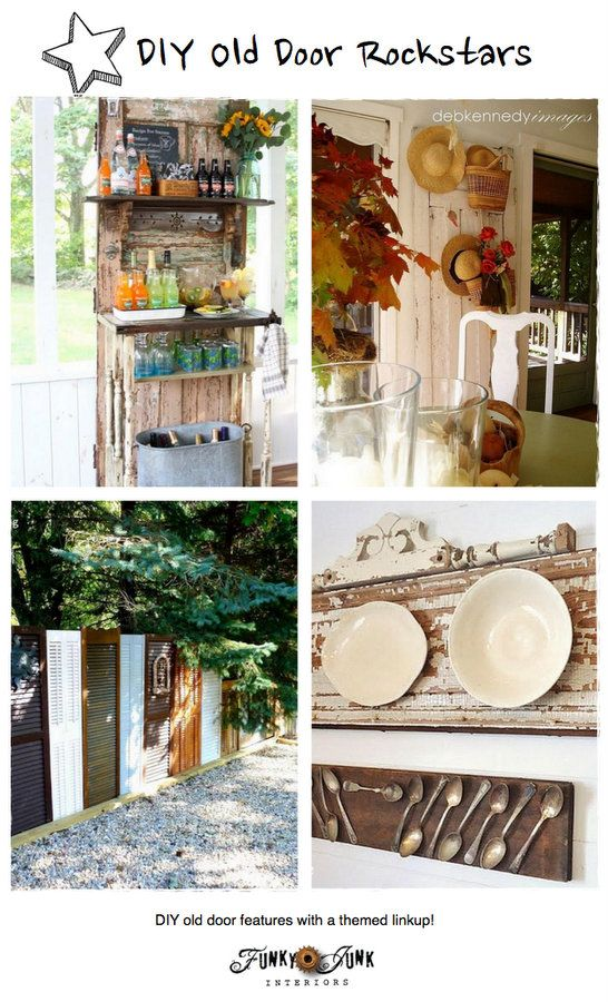 787 best Repurposing - Doors \u0026 Door Knobs images on Pinterest | Old doors Home ideas and Salvaged furniture  sc 1 st  Pinterest & 787 best Repurposing - Doors \u0026 Door Knobs images on Pinterest | Old ...