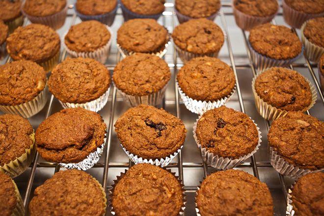 Peach Bran Muffins with Quinoa | Recipe
