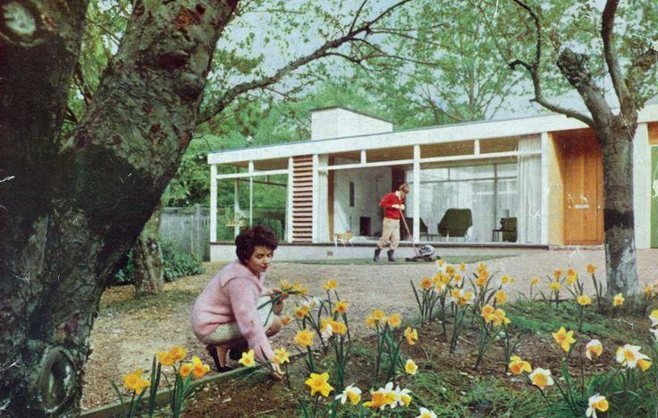 Golden Grove House, The Manser Practice #house #steel #glazing #modern #crisp #elegant #minimal #classic #white
