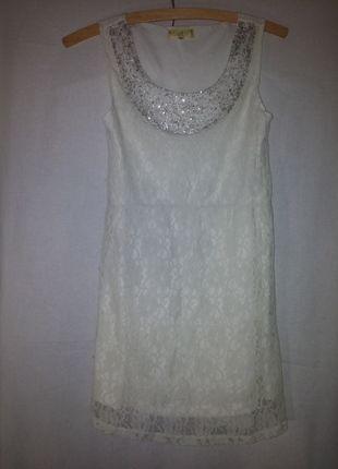 Kup mój przedmiot na #vintedpl http://www.vinted.pl/damska-odziez/krotkie-sukienki/12304054-biala-sukienka-koronkowa