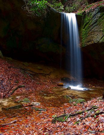 Honeymoon Falls, Pineville KY. Maybe I'll get to go here in October when I'm in Harlan..