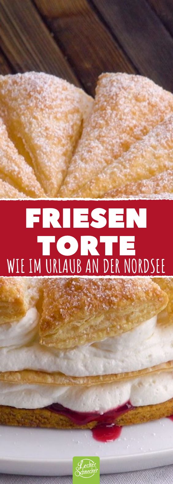 Friesentorte – Norddeutscher Tortenhit will ganz Deutschland erobern!
