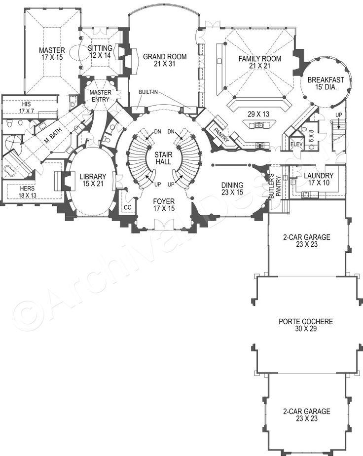 breakers neoclassic house plans luxury home blueprints - Home Blueprints