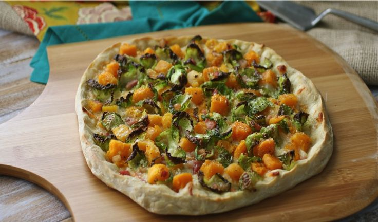 ... Brussels Sprouts, Butternut Squash & Pancetta Pizza by Grab a Plate
