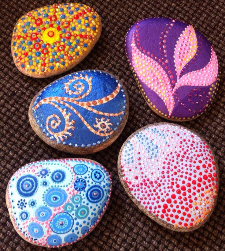 Farve sjov på sten