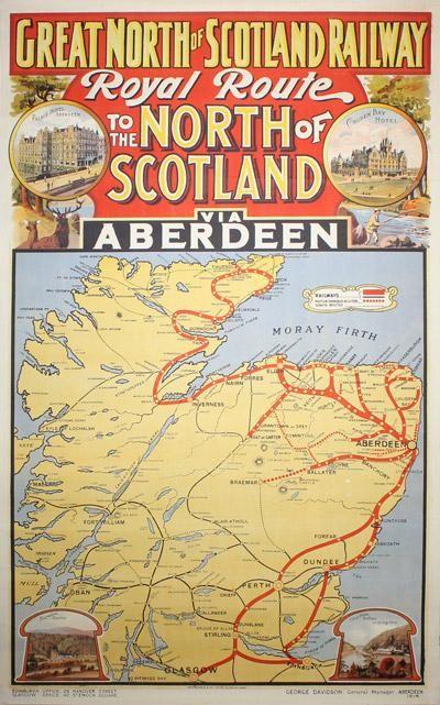 Great North of Scotland Railway -1914