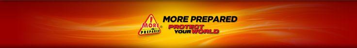 Home Emergency Survival Kit | 4 Person Premium Kit | More Prepared