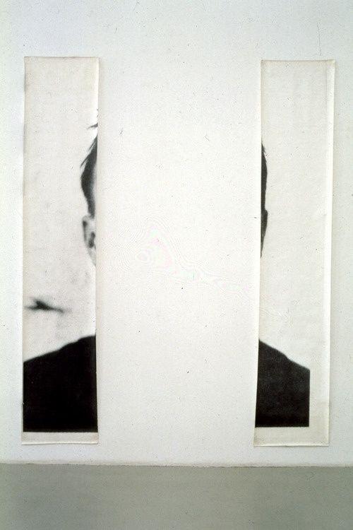 """darksilenceinsuburbia: """" Michelangelo Pistoletto. The Ears of Jasper Johns / Minus Objects, 1966. Website """""""