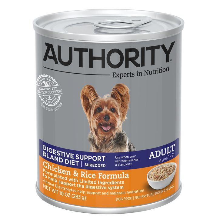 Authority digestive soothing support wet dog food in 2020