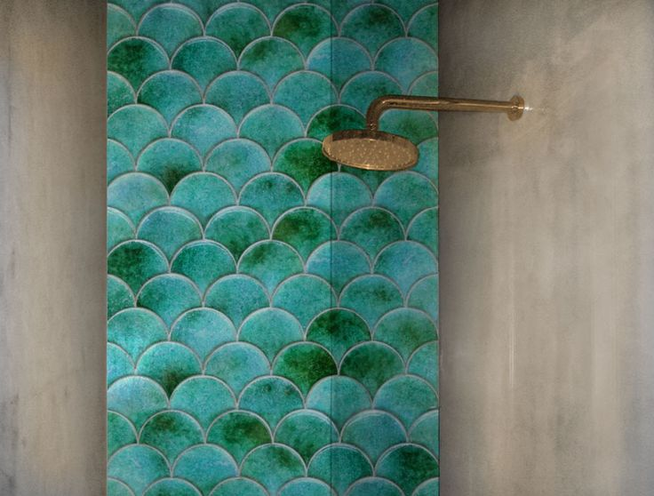 Cl Il Monile Rounded Shapes Shower Wall Tile House Digs
