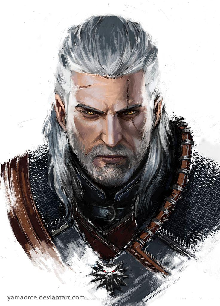 Geralt de Rívia, o Lobo Branco