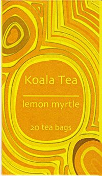 Flavoured Lemon Myrtle Tea - Certified organic tea, blended with lemon myrtle. If you like your tea lemony fresh, you'll love this one!