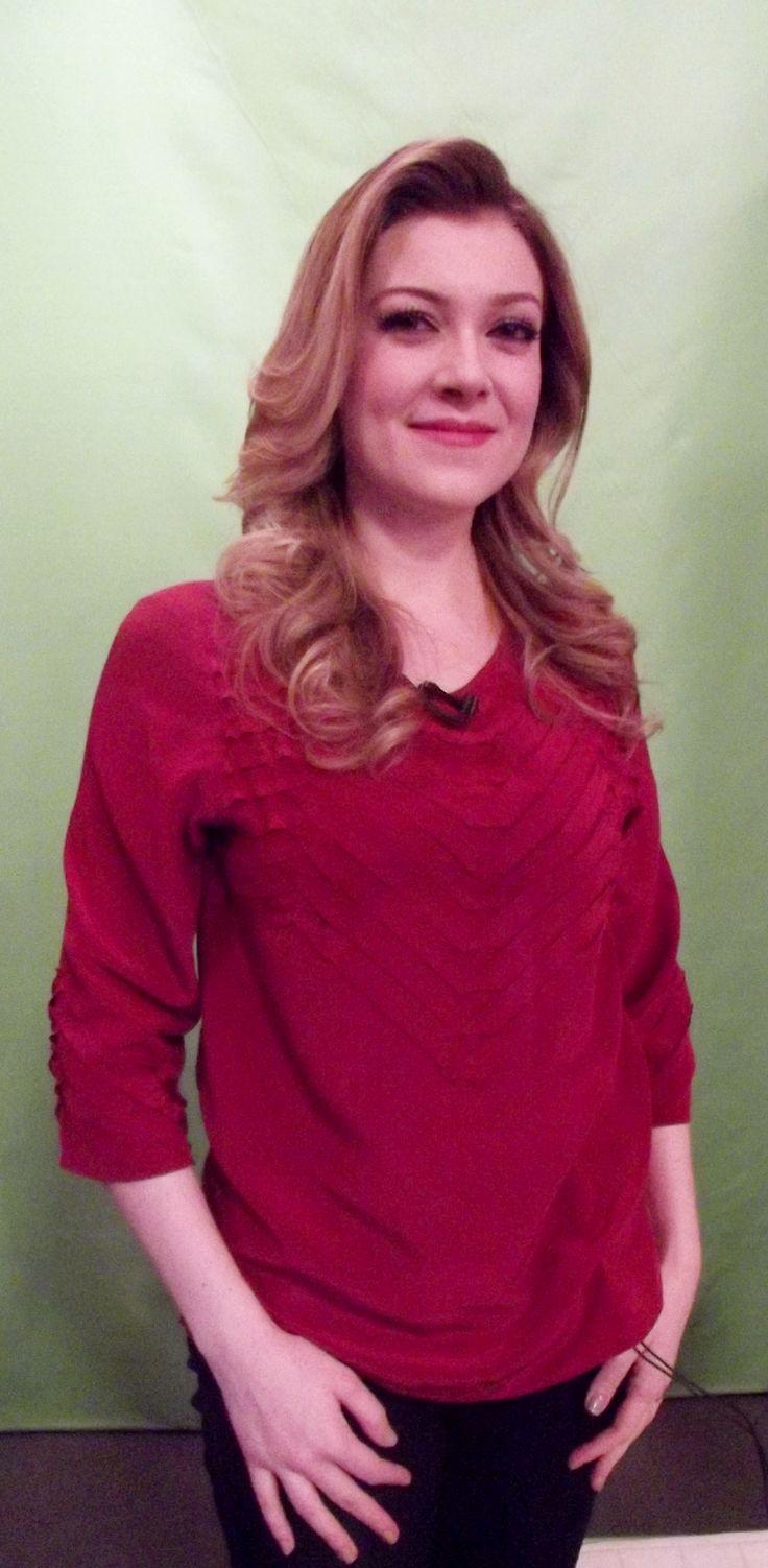 Gostou do look da Luciana Magalhães? Ela escolheu Dandrea e fez bonito no programa Mulheres, da TV Gazeta.